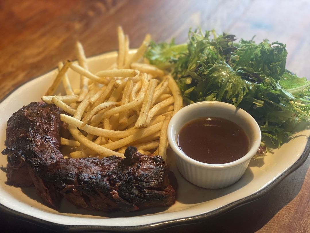 LBI Heart start to your weekend. You earned it.  Dinner special : Steak Frites – r…
