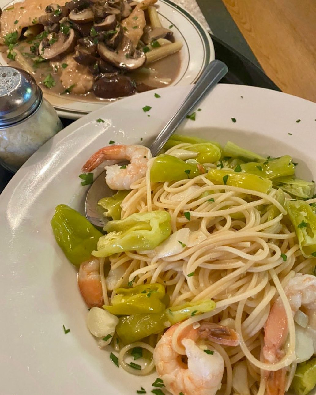 LBI How many times is too many times to post my favorite dinner? Chicken Marsala was…