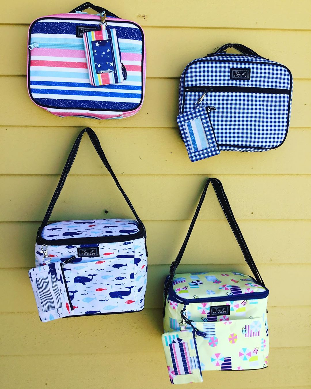 LBI Hurry in for best selection! These lunch box coolers and matching  IDKASE card h…