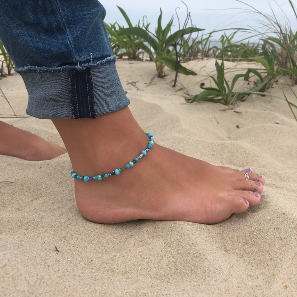 LBI It's still anklet season.  Come and check out all of our anklets.  Hand crafted …
