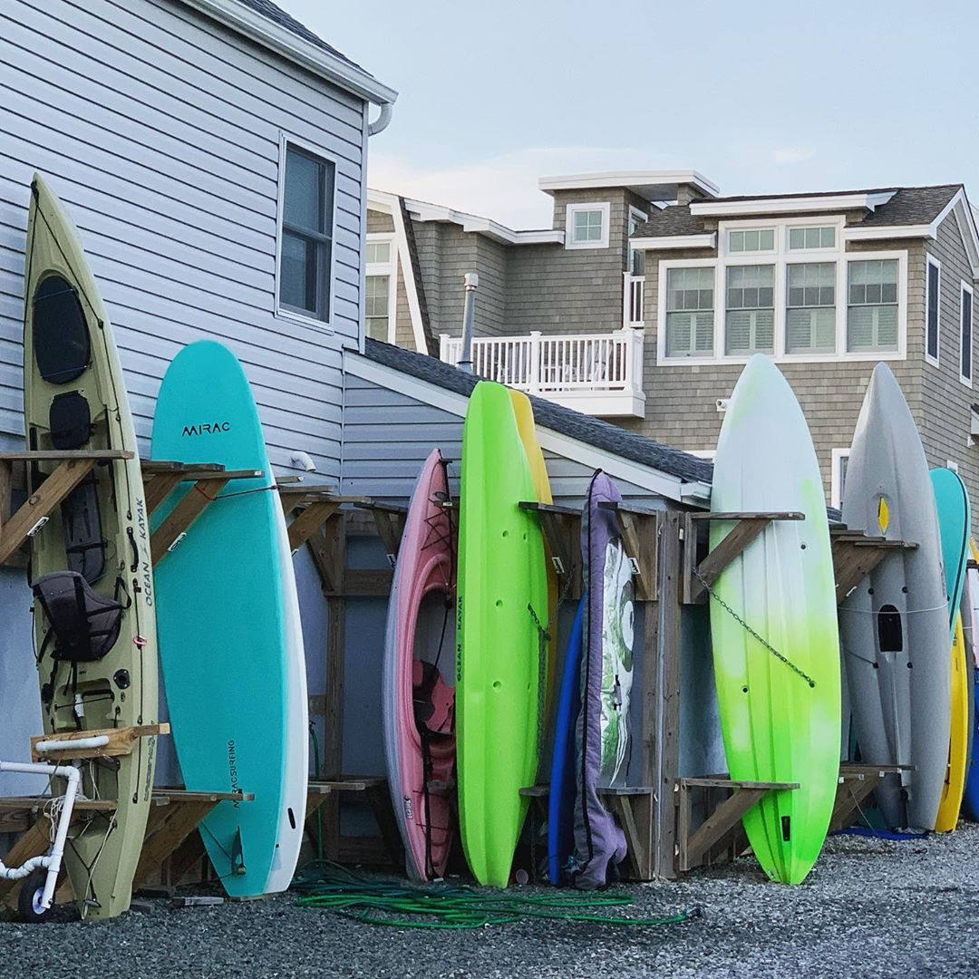 LBI Just a cool pic of some surfboards to get you over the hump! …