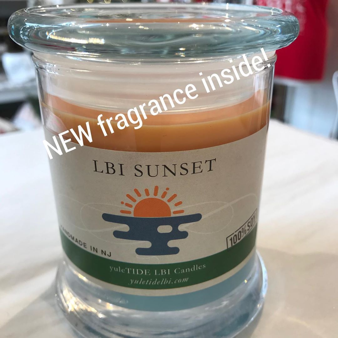 LBI  LBI Sunset has a brand new fragrance! If you liked our original LBI Sunset Cand…