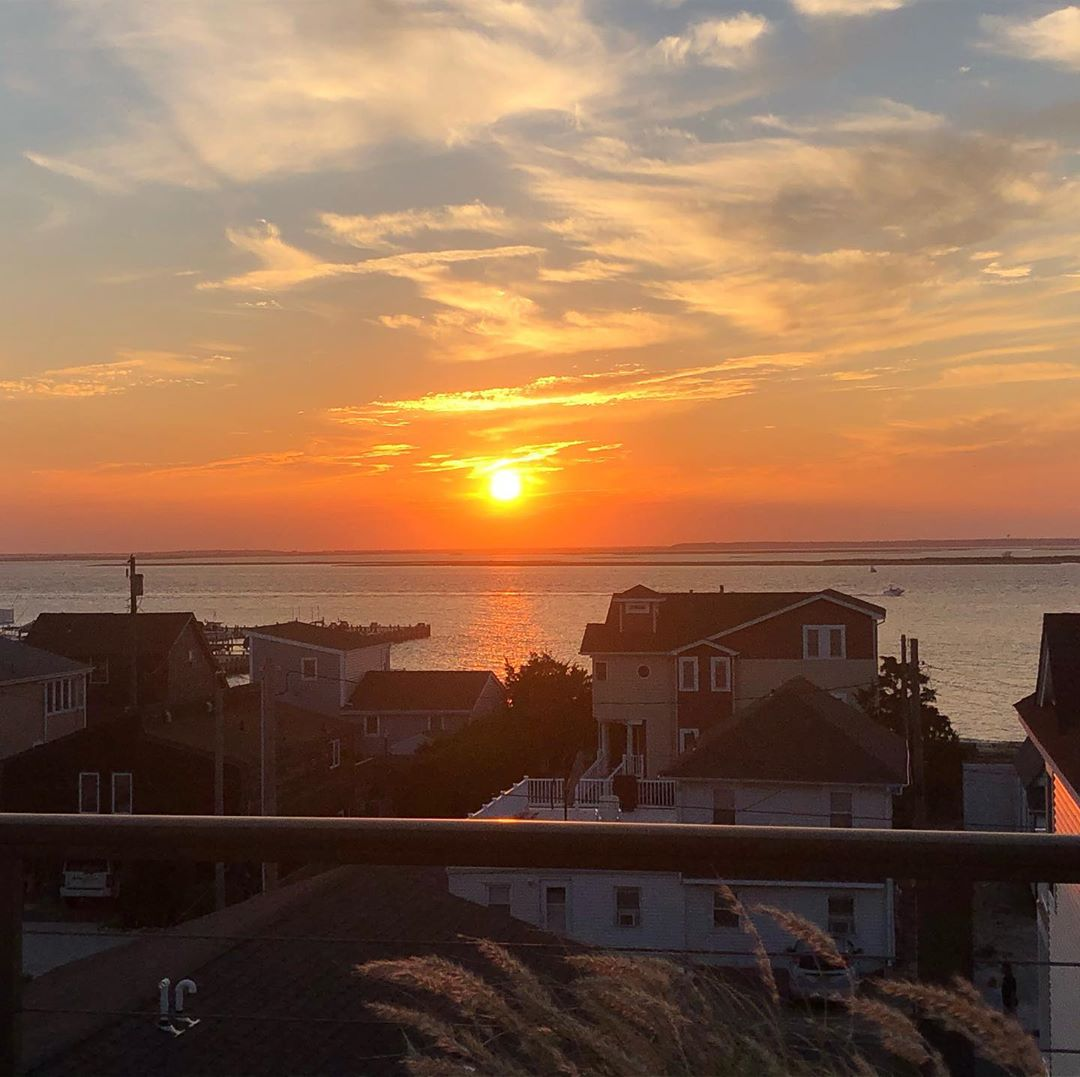 LBI LBI sunset from our rooftop.  Priceless.     …