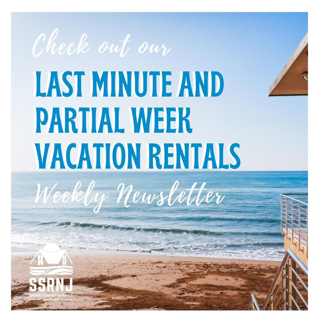 LBI  LOOKING FOR A LAST MINUTE OR PARTIAL WEEK STAY? ⁠ ⁠ Look no further, the listin…