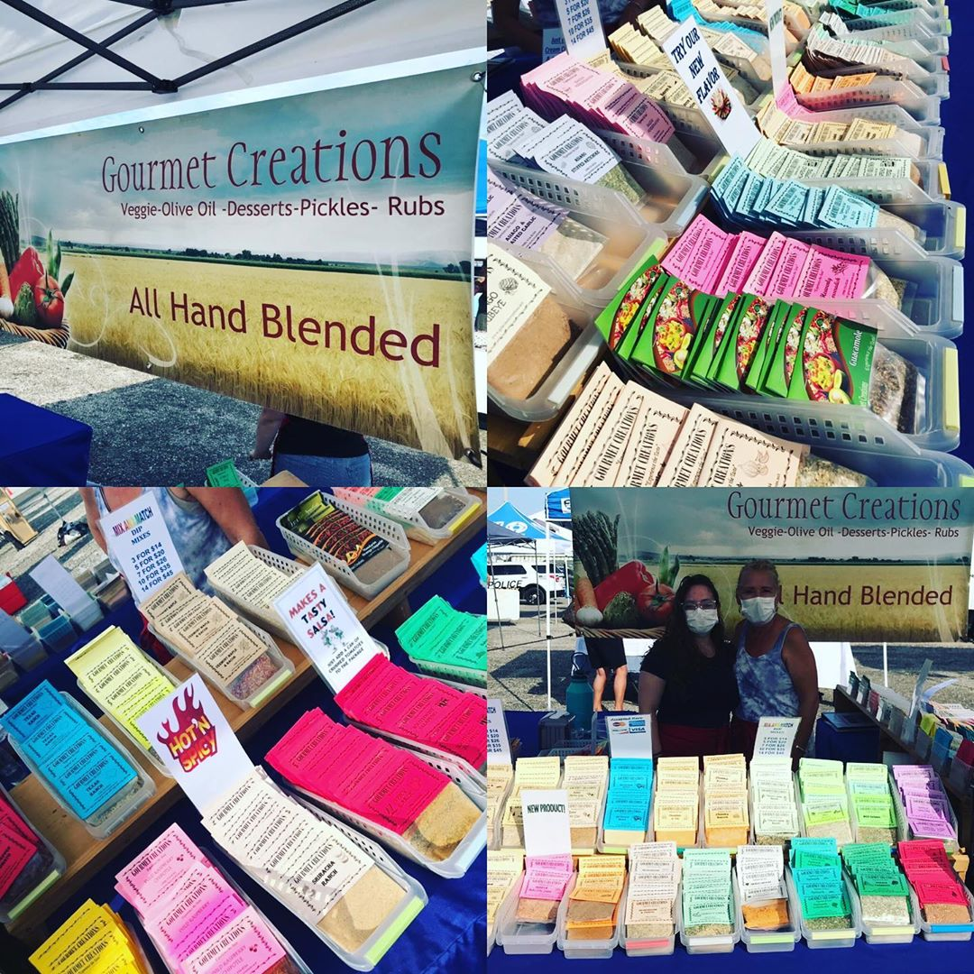 LBI LOTS OF DIPS from  at the Surf City Farmers Market on Mondays from 9am-Noon thro…