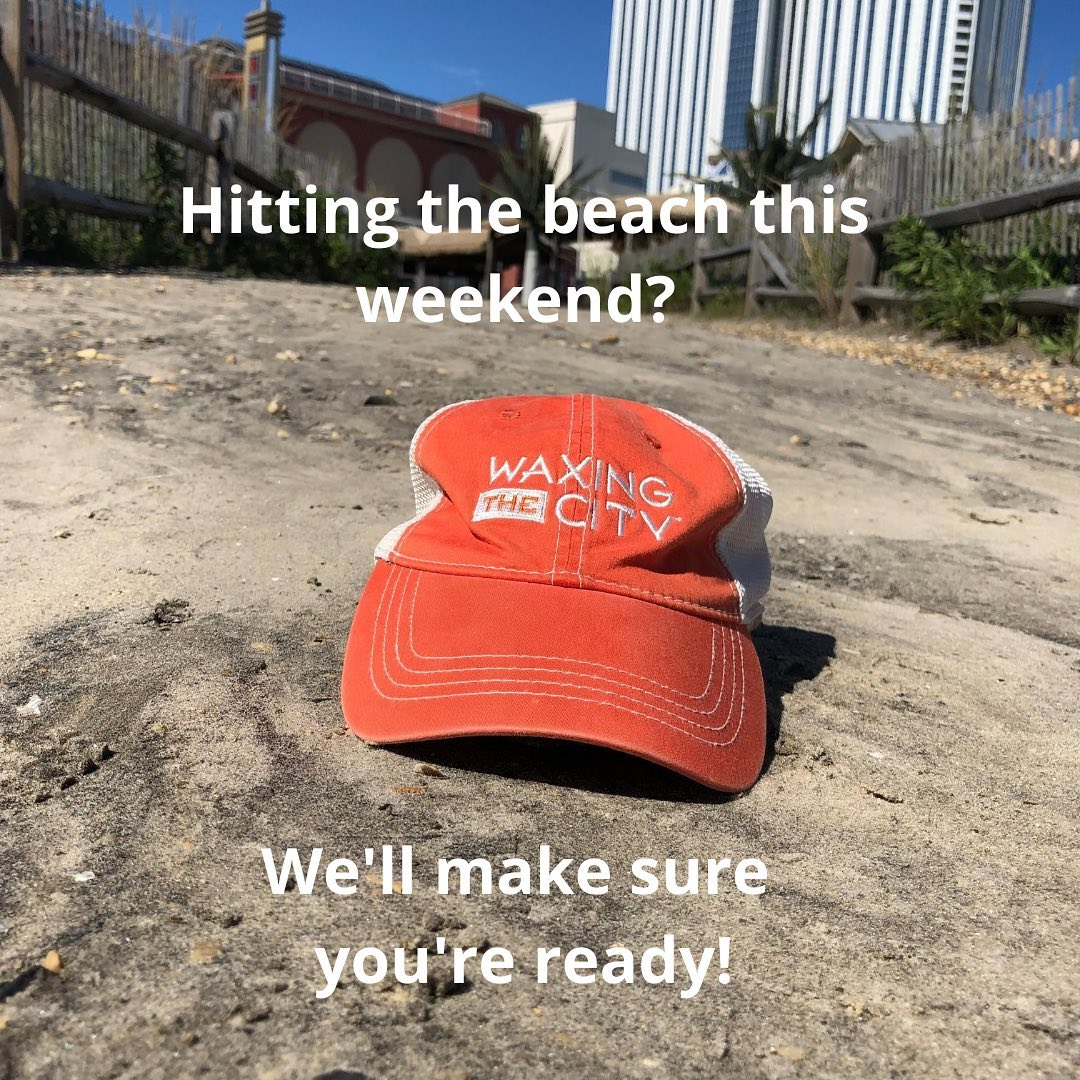 LBI Let WAXING THE CITY get you ready for the beach  this weekend! Arrive SMOOTH for…