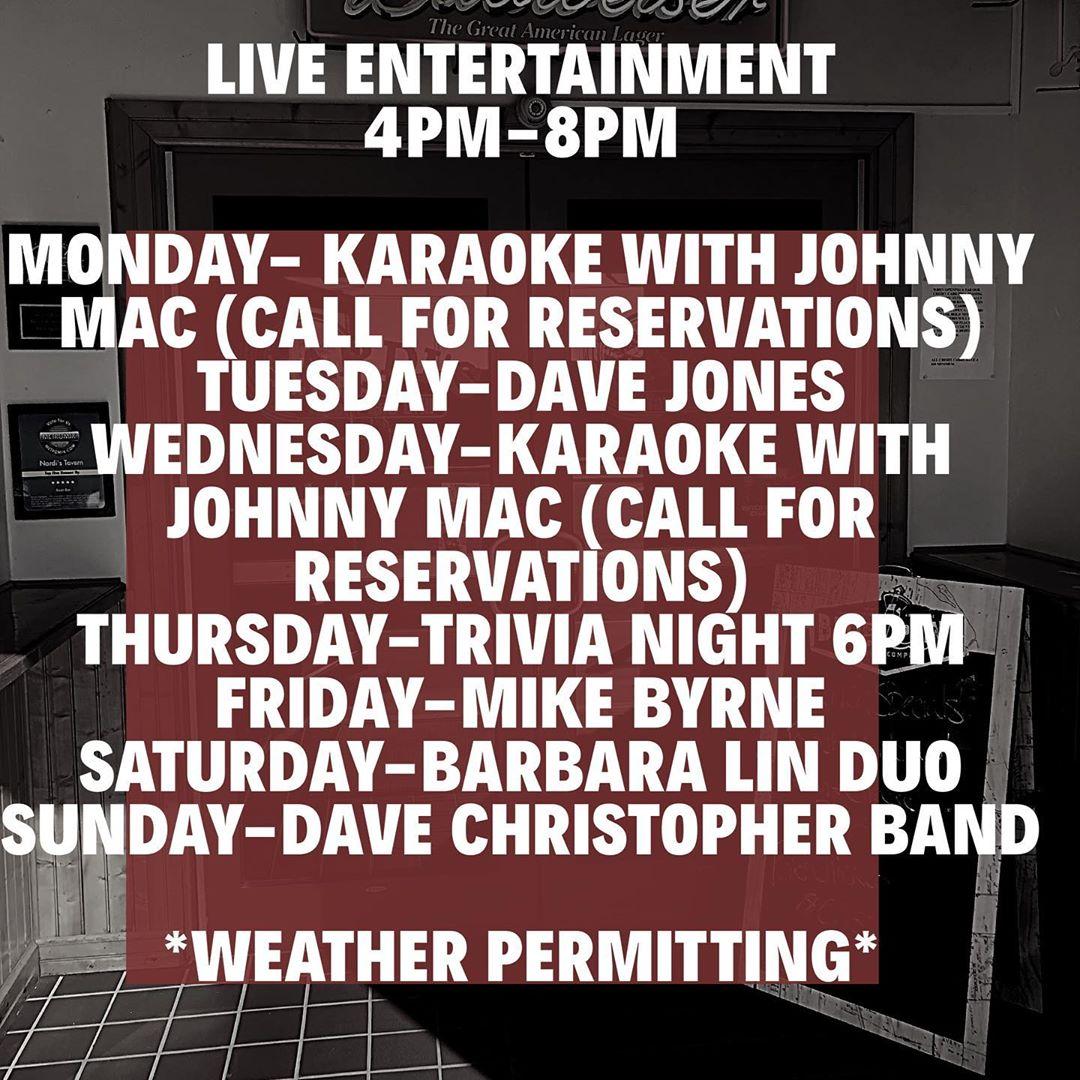 LBI Live music  every day from 4-8pm!     …