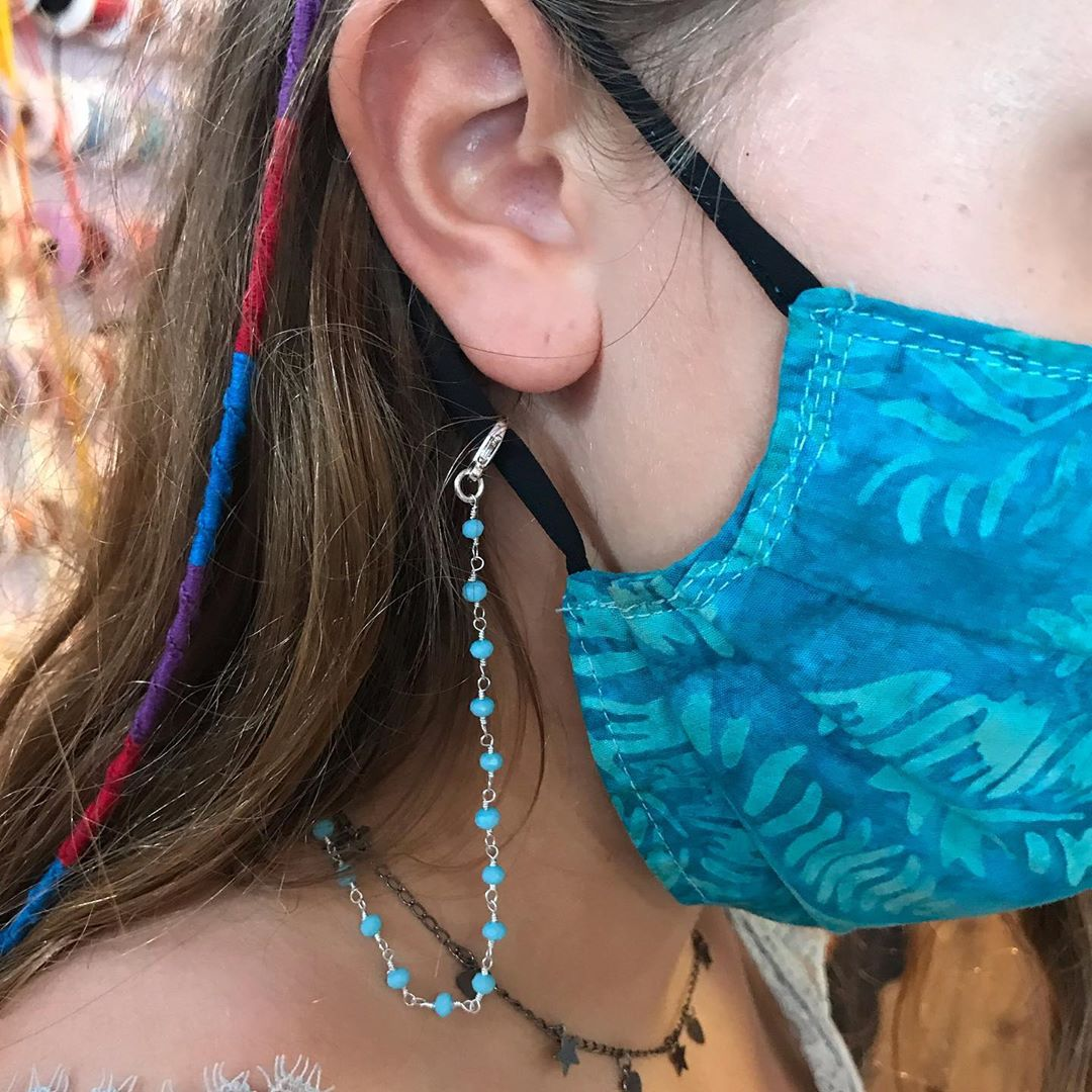LBI Mask holders and hairwraps.  Sign of the times…. getting ready for school….