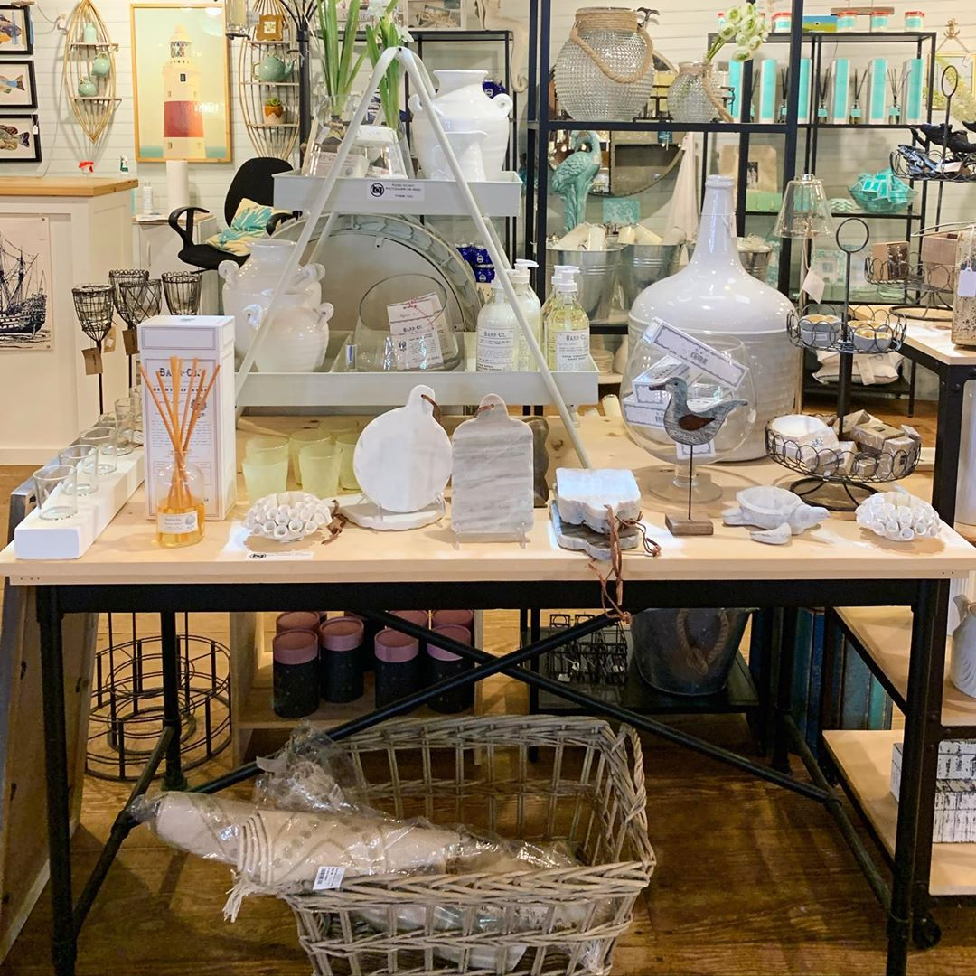 LBI Nestled inside the Schooner's Wharf ship, you will find  an inviting shop filled…