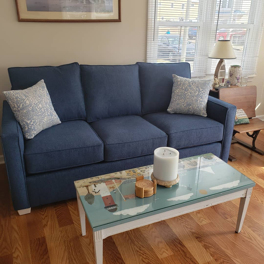LBI New sofa from Oscar Huber's tent sale. Shop local!       …