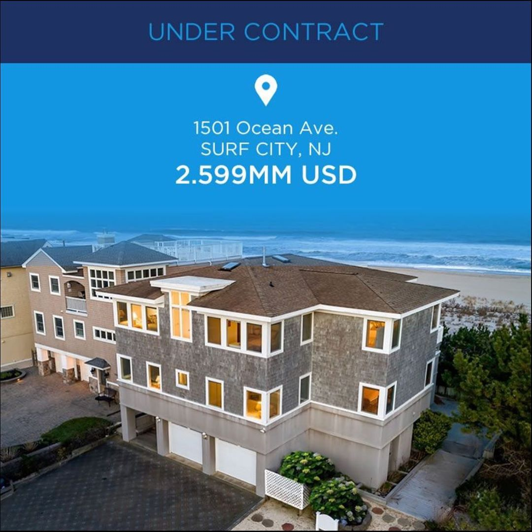 LBI Oceanfront Surf City, Long Beach Island, New Jersey. Under Contract! @lee_luedtk…
