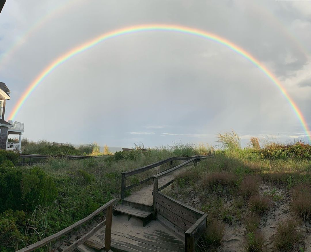 LBI Panoramic picture of the whole rainbow!    …