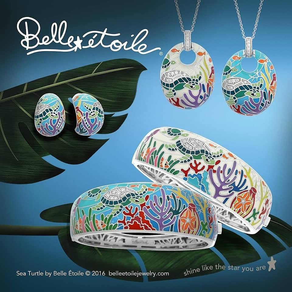 LBI Safe sea turtles while looking gorgeous! Belle Etoile's Sea Turtle Collection do…