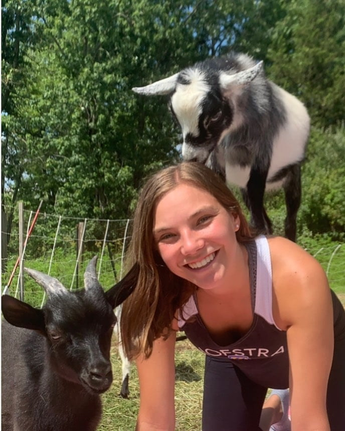 LBI Smile because…goats! . .                 …