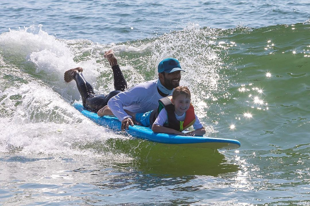 LBI Smiles for miles @wavesofstrength surf therapy event on LBI today. Huge success …