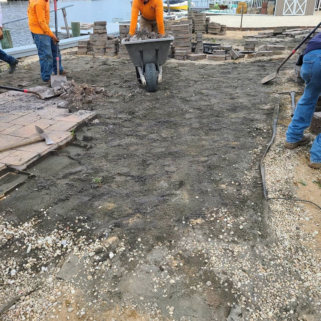 LBI So our client paid a contractor to place EP Henry pavers in there back yard. Aft…