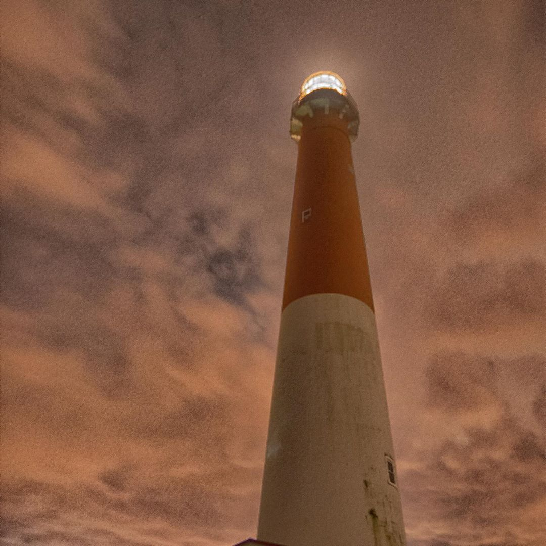 LBI Sometimes as you wait for the stars- remember to enjoy the true beauty around yo…