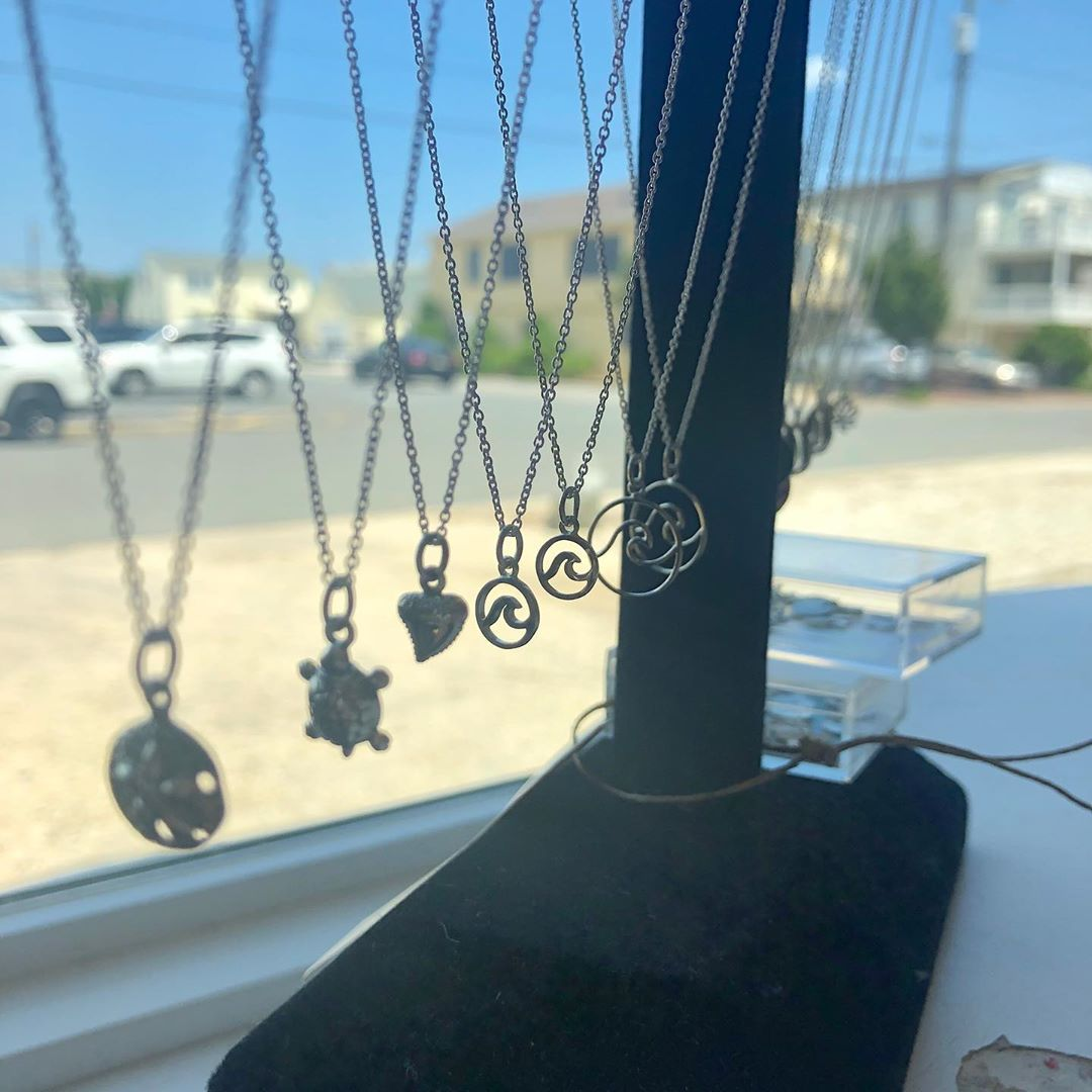 LBI Sterling Silver necklaces with charms. Over a hundred different types of charms …