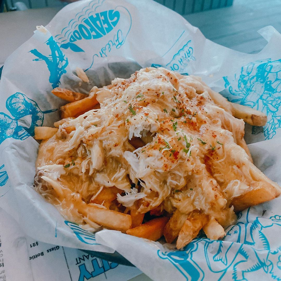 LBI Summer and seafood go together like fries and crabs  . . .               …