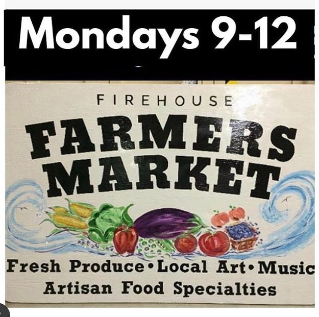 LBI Surf city farmers market at the firehouse! Extended through September, too!  …