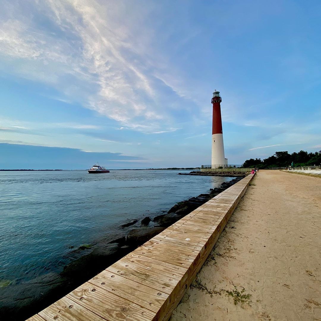 "LBI The Barnegat Lighthouse, ""Old Barney"", is 172 feet tall and has 217 steps. It wa…"