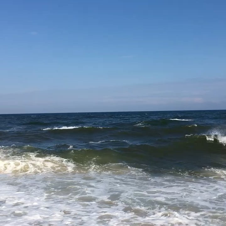 LBI The ocean had quite a lot to say yesterday! I can't wait to go sit by her again …