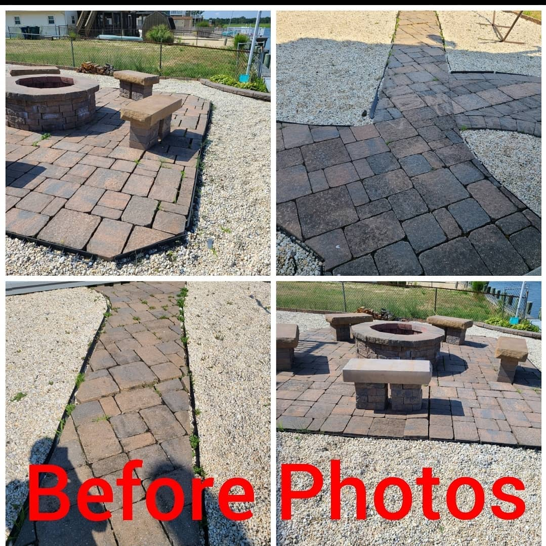 LBI These are before photos of a job we just started. The homeowners paid thousands …
