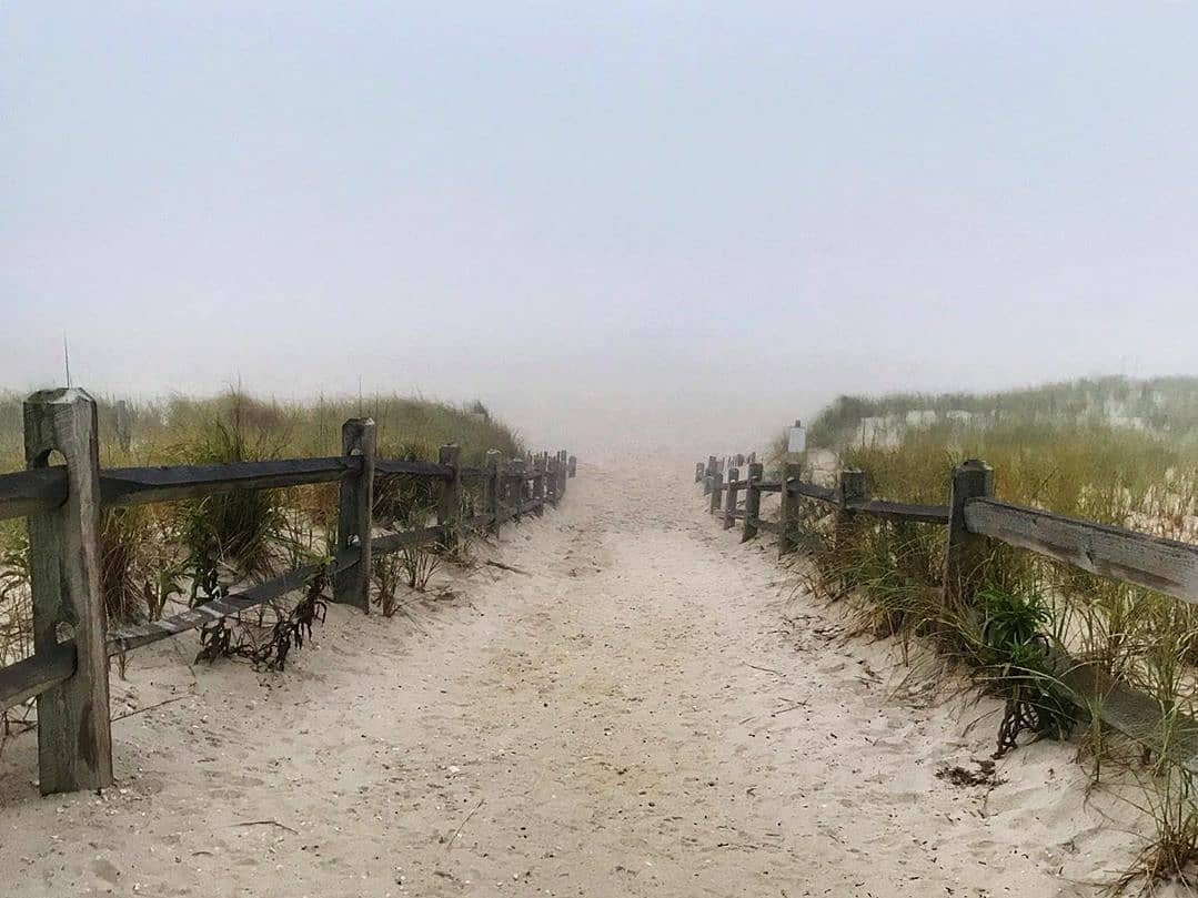 LBI We may not always have a sunrise, but we can still spend the morning by the sea….