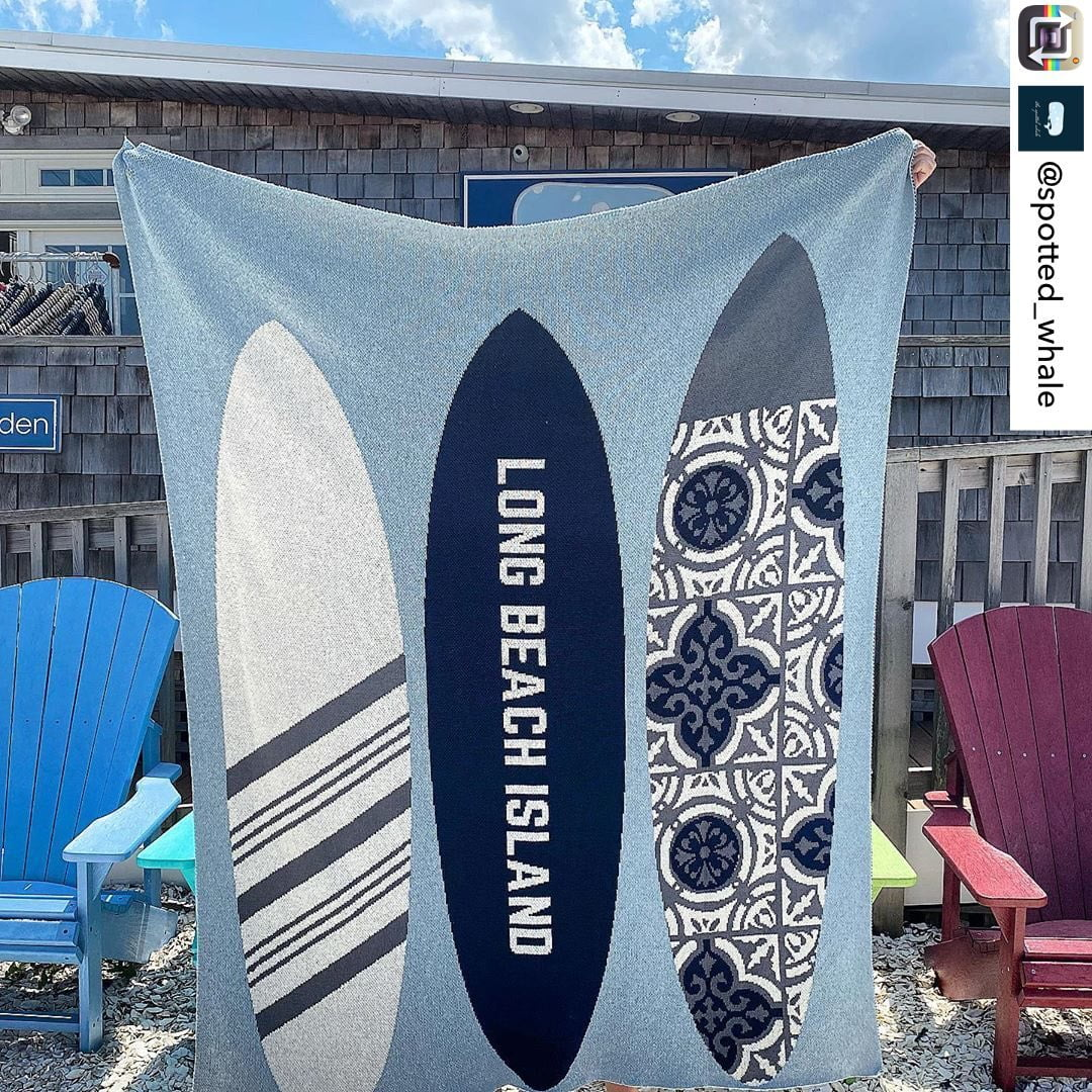 LBI Who else is obsessed with this Lbi throw? Repost from @spotted_whale using @Repo…
