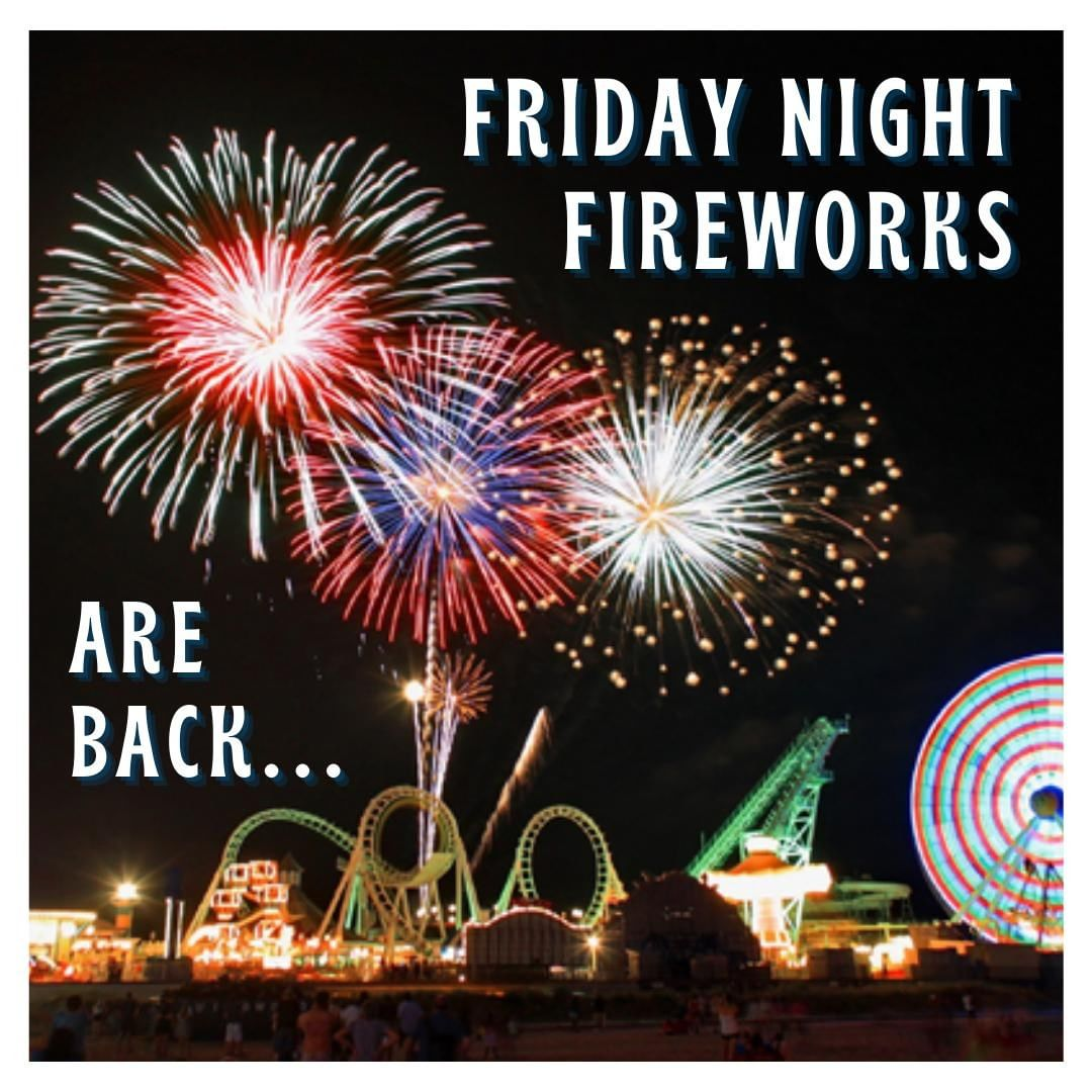 LBI Wildwood Friday Night Fireworks on the Beach are back with new location for 2020…