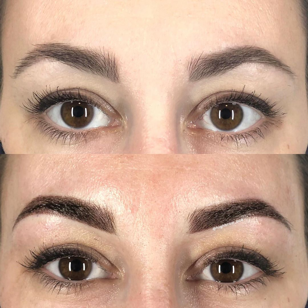LBI  for a babe client who already had great brows but needed less maintenance for h…
