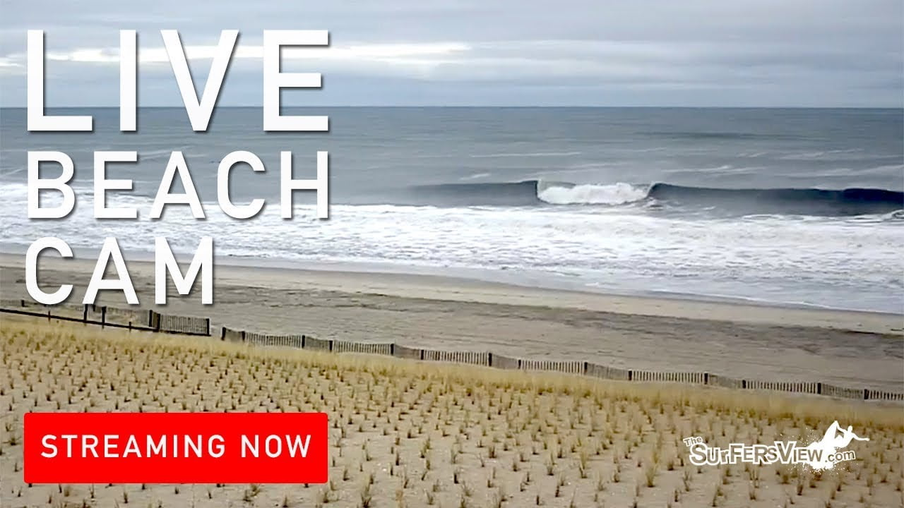 Live Surf Cam: Beach Haven, New Jersey #LBI