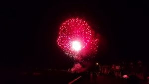 Long Beach Island 4th of July 2020 Brant Beach for first Responders
