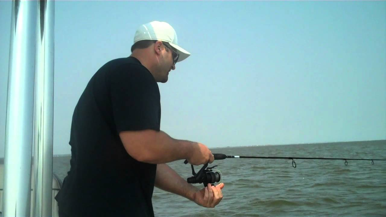 Long Beach Island Fishing For Blowfish September 4, 2011.mp4