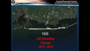 Long Beach Island Shoreline Change: 1879-2010