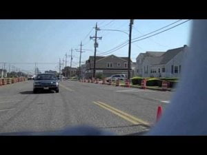 Long Beach Island Street Speed/Stopping Demonstration