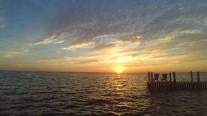 Long Beach Island Summer Sunset Time Lapse