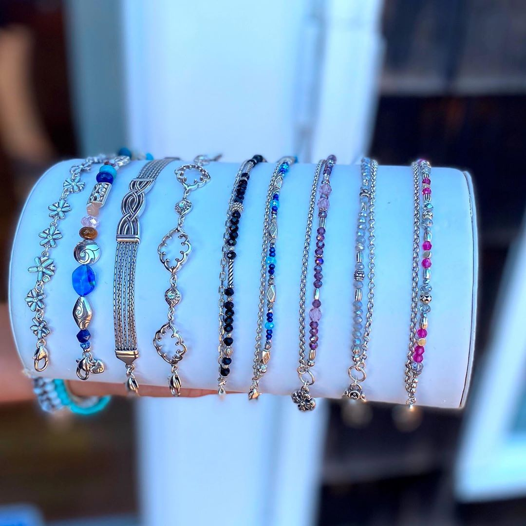 New Brighton bracelets! Come see our newest shipment from Brighton… so much to…