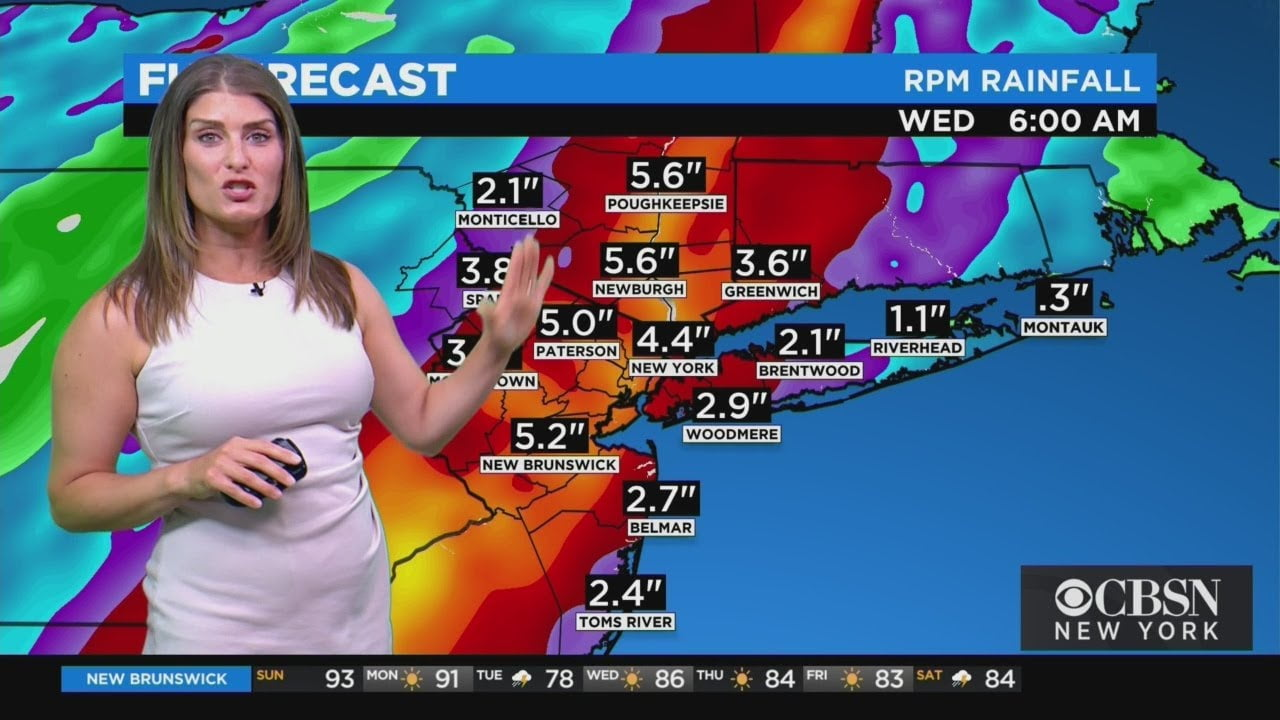 New York Weather: Thunderstorms Possible Into Monday
