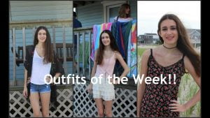 Outfits of the Week- Long Beach Island(Aug9-Aug16)