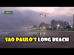 Sao Paulo has beaches, too! PRAIA GRANDE is one of them! South Coast