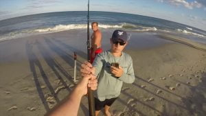 Shark Fishing off Long Beach Island, NJ