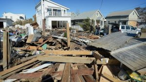 Read more about the article Super Storm Sandy Beach Haven West by Johan Iwanowski #LBI