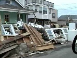Superstorm Sandy: the aftermath on Long Beach Island, New Jersey