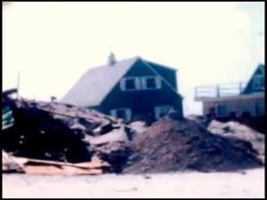 The March Storm of 1962 on Long Beach Island, NJ