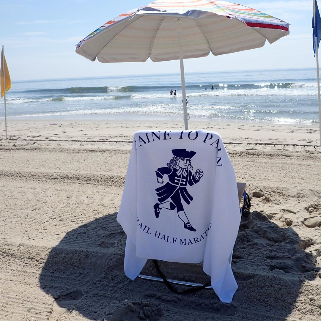 #TheTowel had a nice week at the beach #LongBeachIsland. #beachlife…