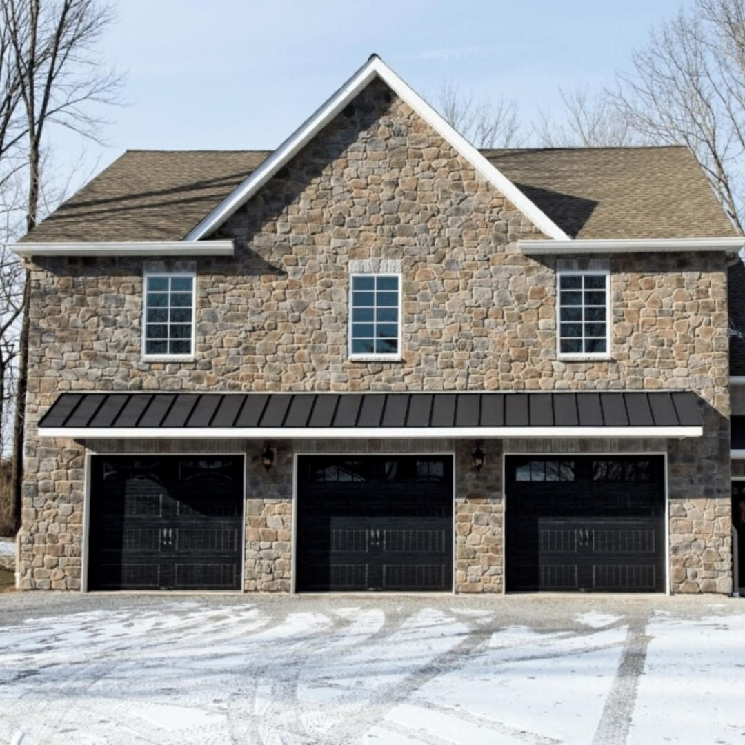 Thinking about upgrading your garage?  . We were able to build a fully heated an…