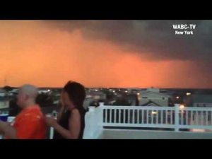 Thunderstorm in Long Beach Island, New Jersey