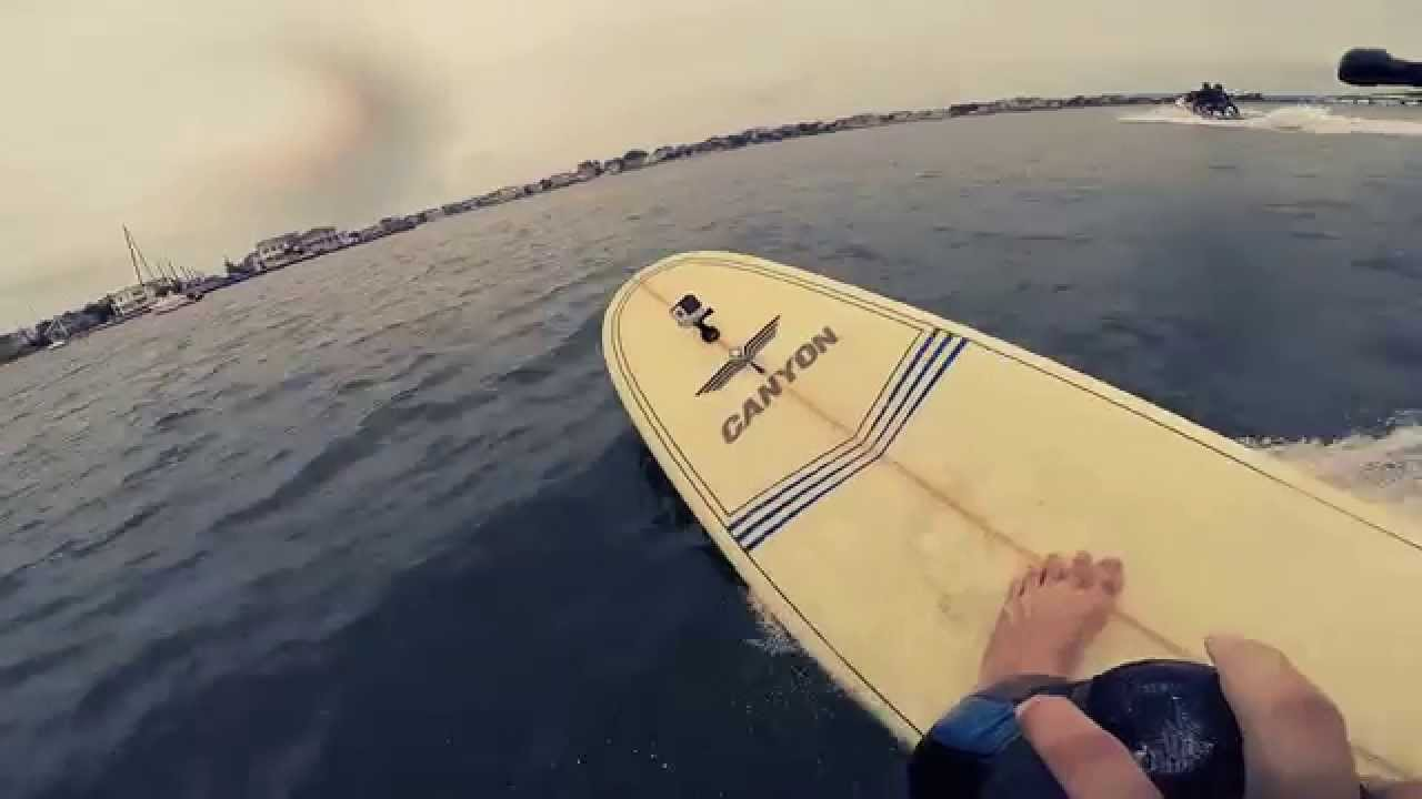 Wake Surfing Long Beach Island Summer 2014