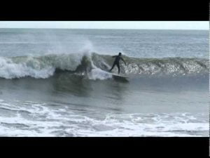 frack.tv Frack Surfing Jason LBI LOng beach Island Wooden Jetty 2009